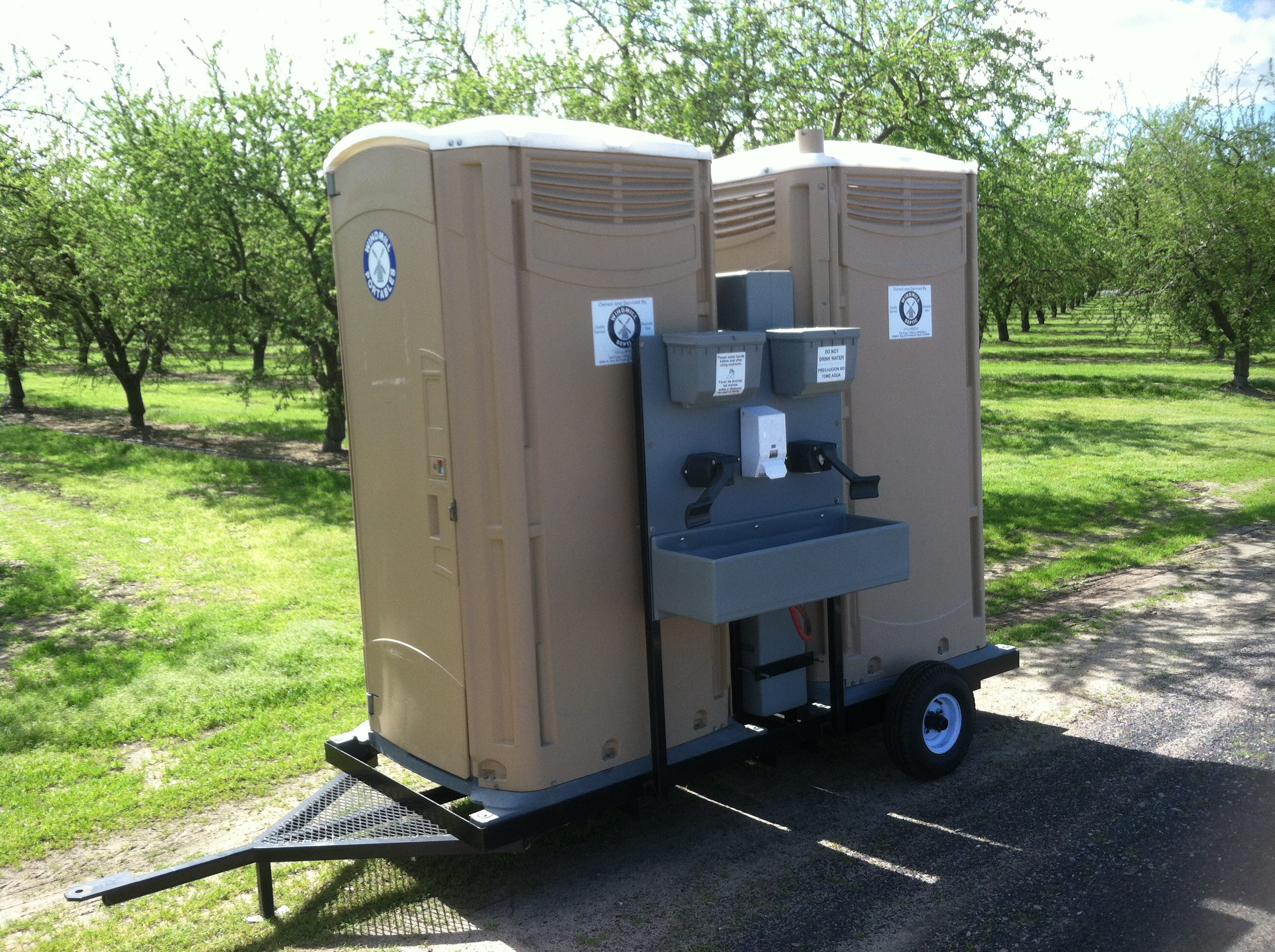 trailers bathroom restroom party hudson portable the trailer about rentals time of residence valley counter